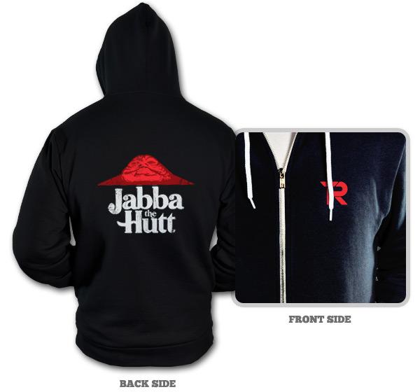 Jabba The Hutt Pizza Hut Hoodie