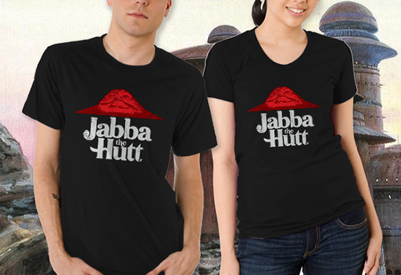 Jabba The Hutt Pizza Hut T-Shirt