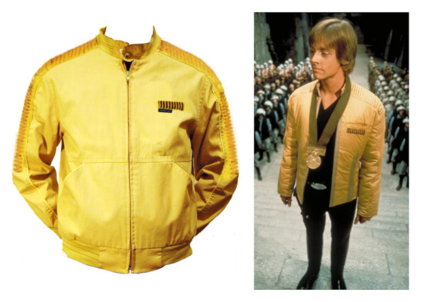 Luke Skywalker Jacket With Yavin Medal Scene
