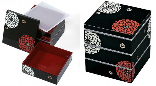 Japanese Three-Tier Hyakka Bento Lunchbox