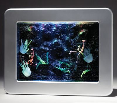 Jelly Fish Tank on Artificial Jellyfish Led Aquarium   Geekalerts