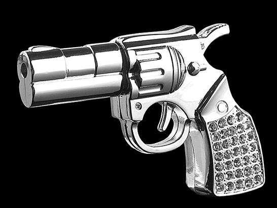 Jewel Gun USB Flash Drive