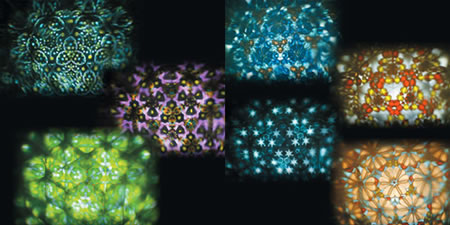 Kaleidoscope Projector