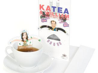 Kate and William Tea Bags