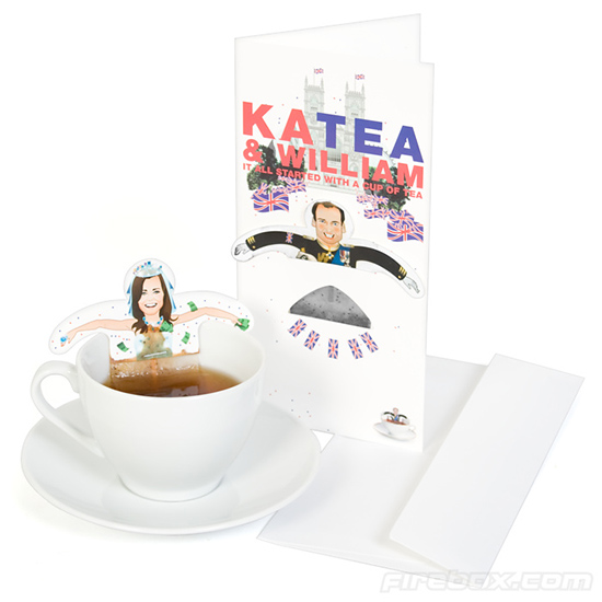 kate and william. Kate and William Tea Bags