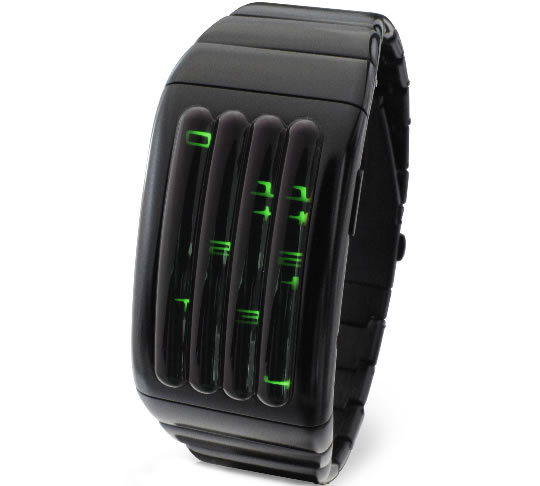 Kisai Keisan Aluminum LED Watch