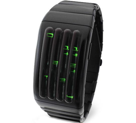 Kisai Keisan Aluminum LED Watch