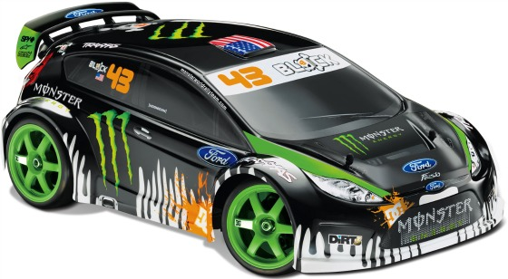 r c replica of ken block 39 s ford fiesta rally car. Black Bedroom Furniture Sets. Home Design Ideas