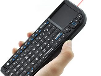 Keyboard with Laser Pointer