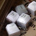 Keyboard Key LED Cell Phone Charms