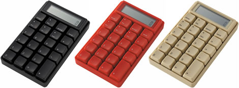 Computer Keypad Calculator