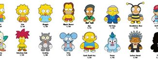 Simpsons Mini Figures Series 1