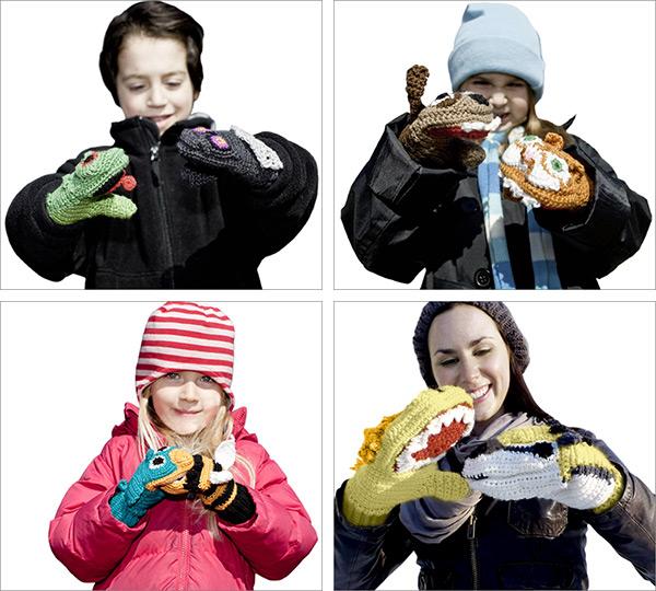 Kids Animal Versus Mittens