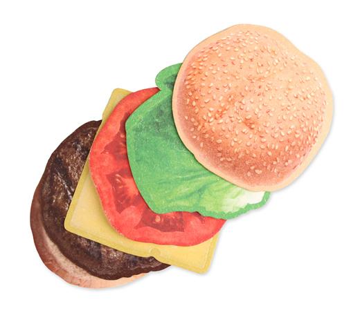 Kikkerland Burger Coasters