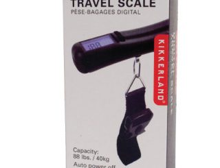 Kikkerland Digital Travel Luggage Scale