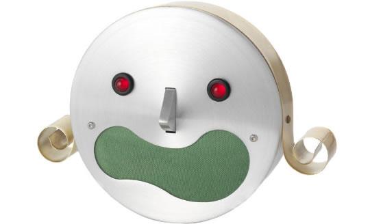 Kim the Talking Robot Alarm Clock