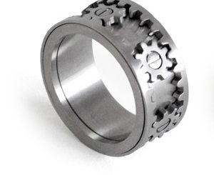 Kinekt Gears Ring