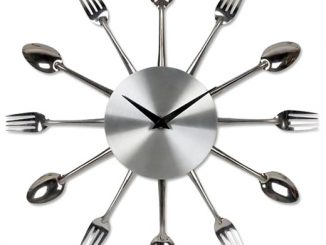 Kitchen Fork Spoon Clock