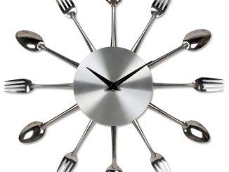 Kitchen Fork Spoon Clock