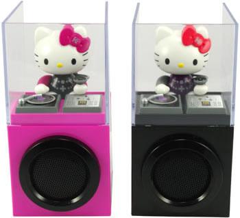 Dj Hello Kitty - bólogatós DJ cica