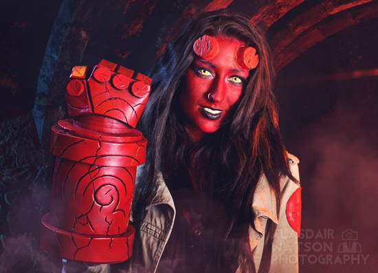 kitty lappin as hellgirl