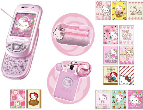 We covered a candy bar Hello Kitty Mobile Phone last month and now