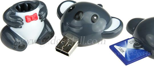 Koala Bear USB Card Reader