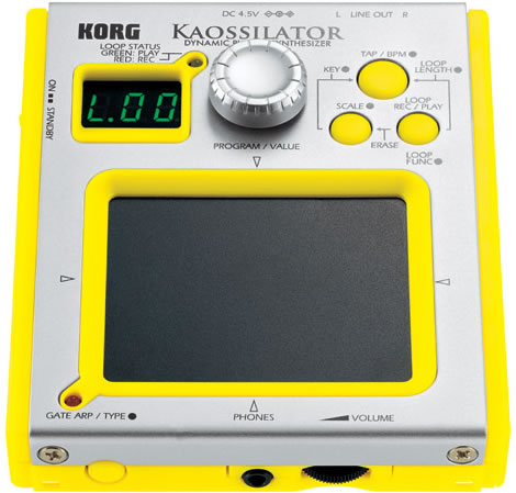 Korg Kaossilator Mini Synthesizer