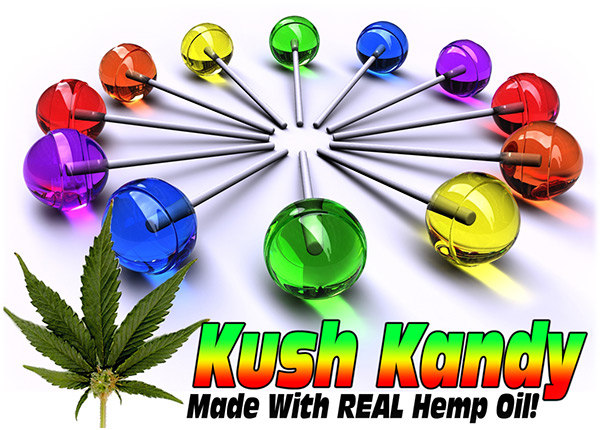 Kush Kandy Lollipops