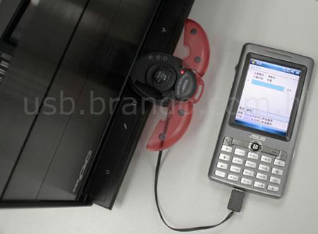 3-in-1 Ladybug MicroSD Card Reader