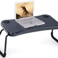 USB Lap Computer Desk with Speakers and Fans