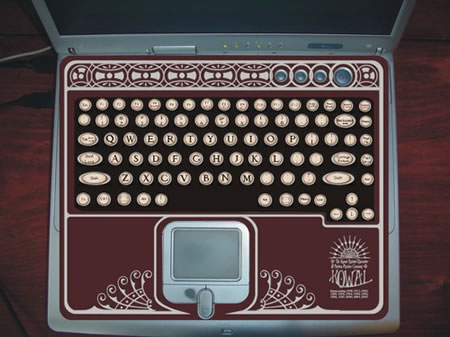 Typewriter Laptop