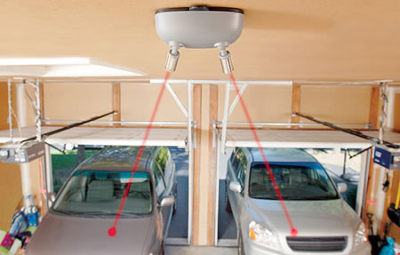 Dual Laser Guided Parking System