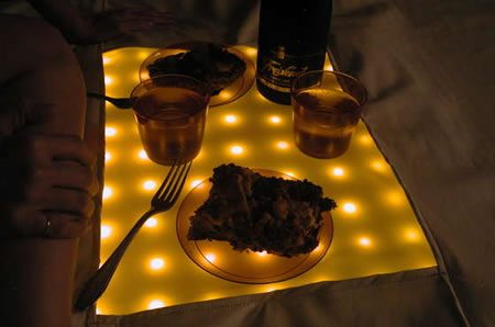 Water Resistant LED Picnic Blanket