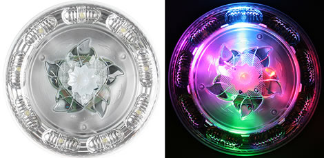 Cake-Shaped Multicolor LED Light