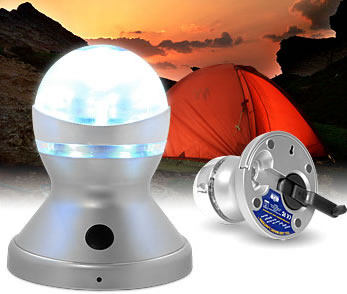 Wind Up LED Camp Light