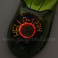 USB Air Flow Mouse With Scrolling LED Message