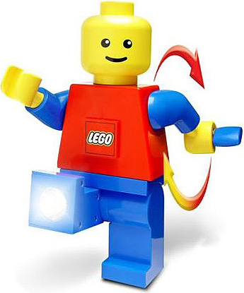 Giant LEGO Man Dynamo 2-LED Torch