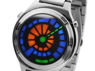 Kisai Sensai – Tokyoflash Aluminum LED Watch