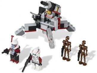 LEGO 9488 Elite Clone Trooper Commando Droid Battle Pack