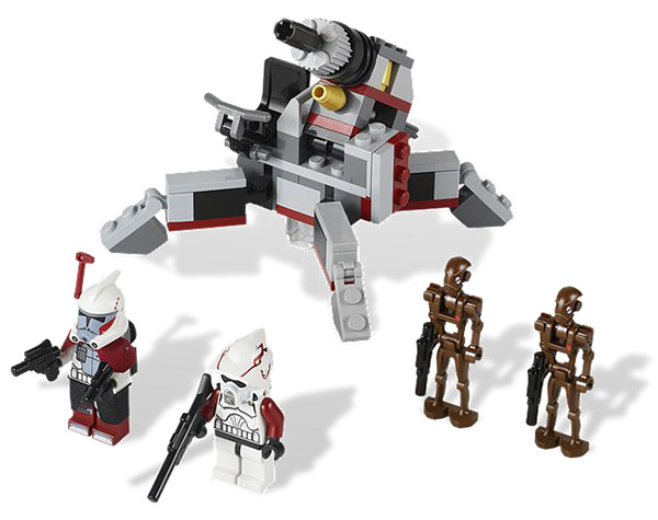 LEGO 9488 Elite Clone Trooper Commando Droid Battle Pack