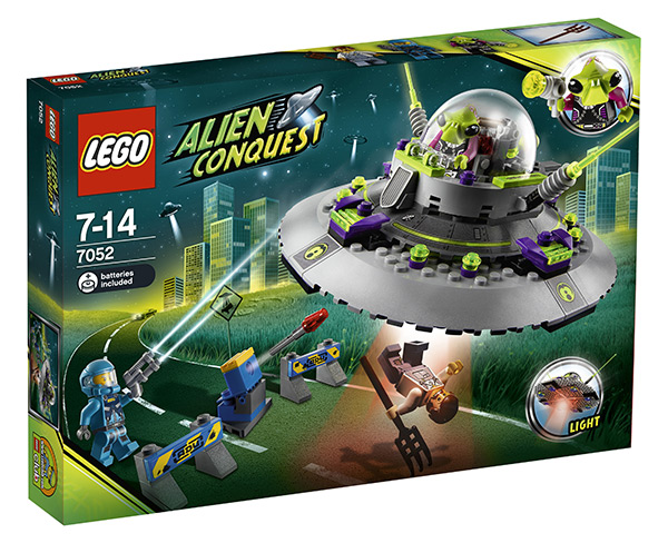 Lego UFO Alien Conquest #7052