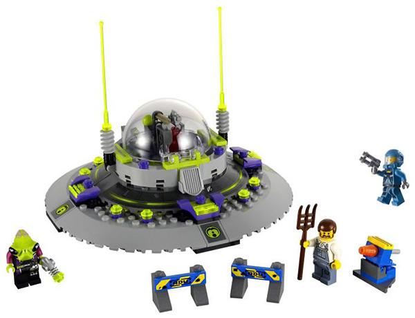 Lego UFO Alien Conquest