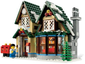 LEGO Christmas Village Post Office