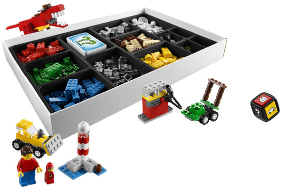 LEGO Creationary Board Game