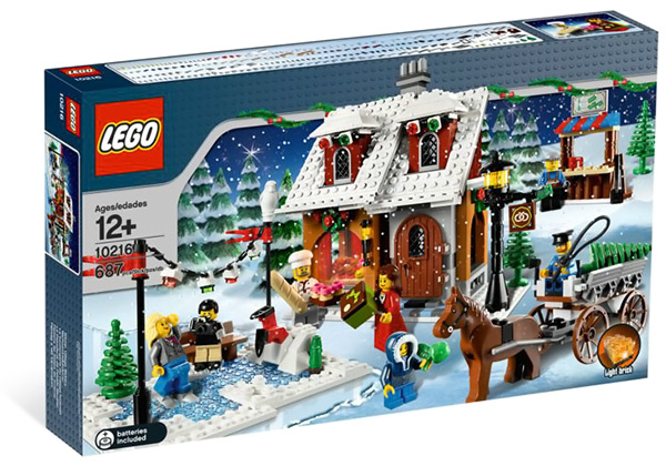 LEGO Creator Winter Village Bakery #10216