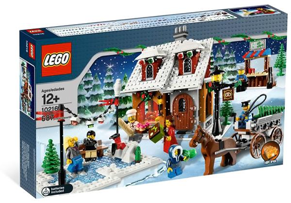 LEGO Creator Winter Village Bakery #10216