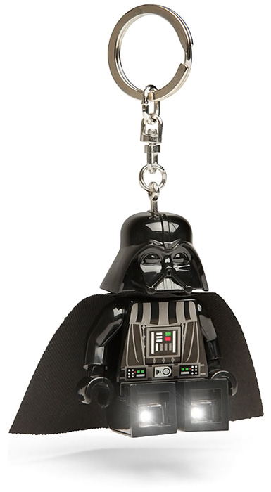 LEGO Darth Vader Keychain Flashlight