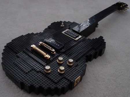 Check out this cool guitar made