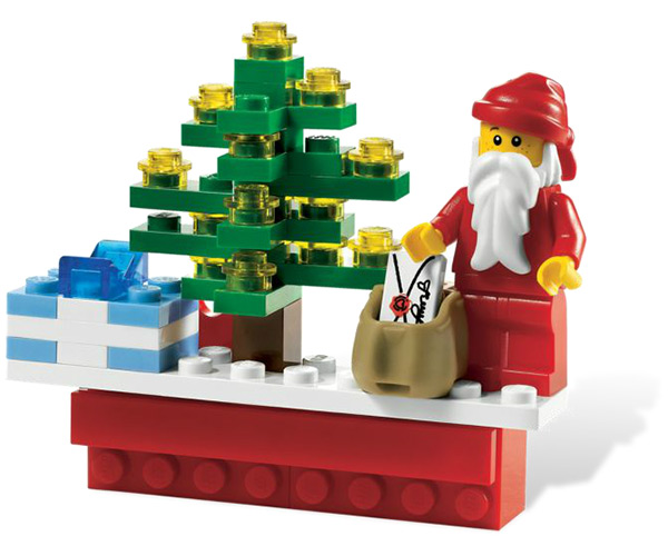 LEGO Holiday Scene Magnet